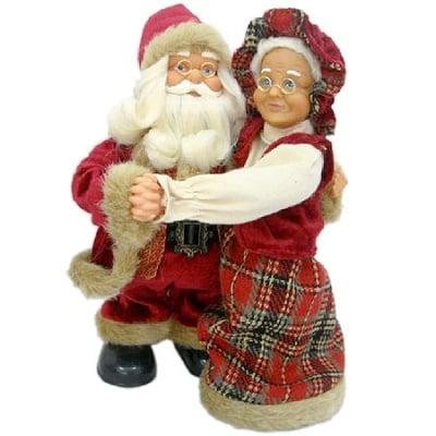 Дядо Коледа с баба 30 см.