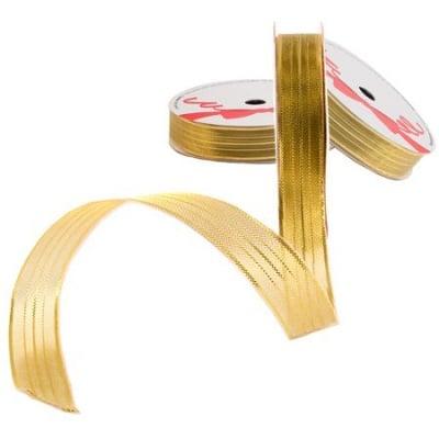 Лента райе злато 15мм - цена на едро