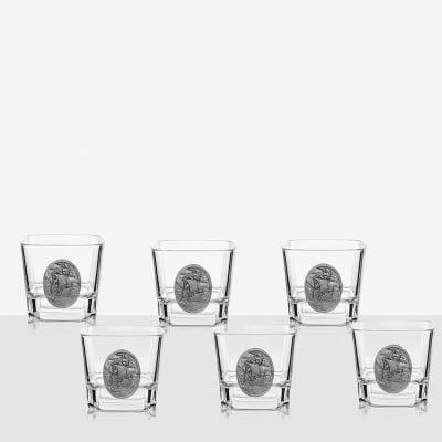 Сет 6 чаши за уиски кораб