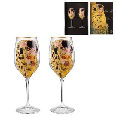 The Kiss  чаши за бяло вино
