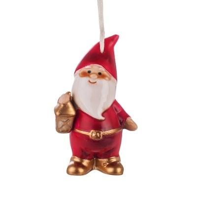 Дядо Коледа с фенер
