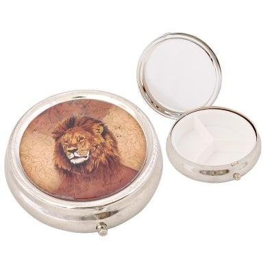 Кутия за хапчета лъв