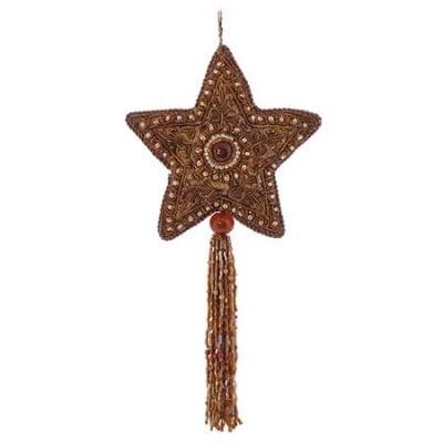 Етно висулка звезда