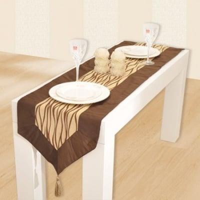 Покривка за маса кафява