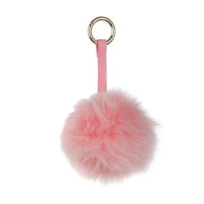 Ключодържател розова топка