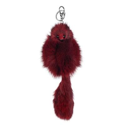 Ключодържател лисица - бордо