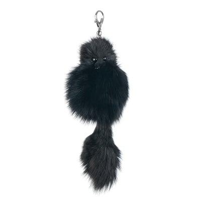 Ключодържател черна лисица