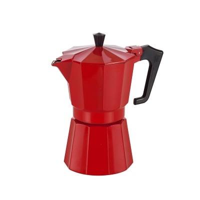 Италианска кафеварка червена