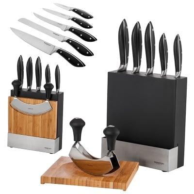 Сет ножове,дъска и чопър