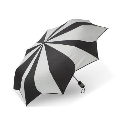 Дамски чадър PIERRE CARDIN бяло и черно