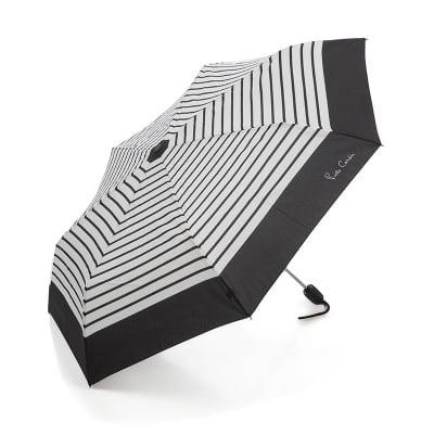 Дамски чадър с черен борд - PIERRE CARDIN