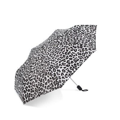 Дамски чадър с леопардов десен