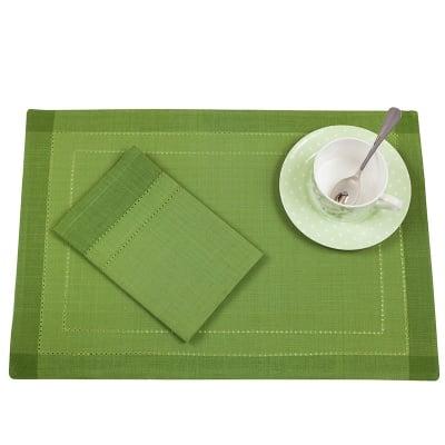 Комплект за маса зелен