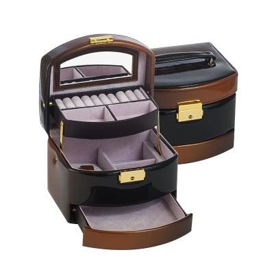 Кутия за бижута Brown средна