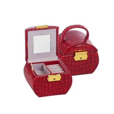 Кутия за бижута Red Crocodile малка
