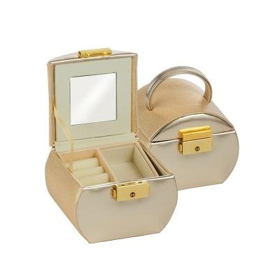 Кутия за бижута Gold + gold малка