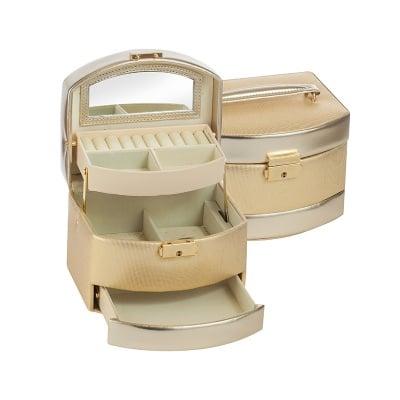 Кутия за бижута Gold+gold средна