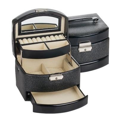 Кутия за бижута Black&silver средна