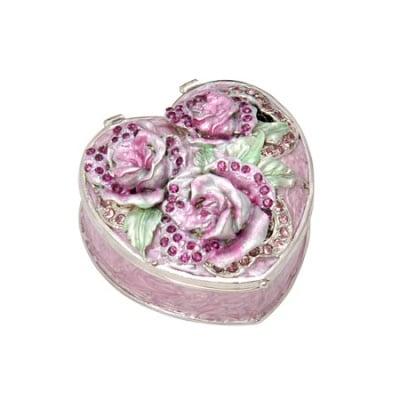 Кутия за бижута роза пурпур