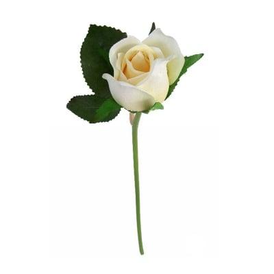 Роза крем 23см.