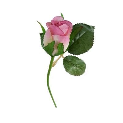 Роза розова 23см.