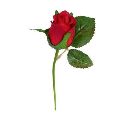 Роза червена 23см.