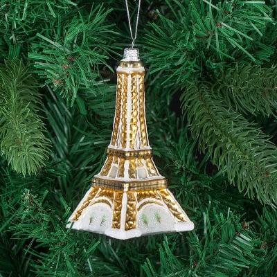 Стъклена играчка Айфелова кула