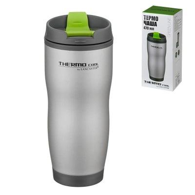 Термо чаша със зелено - 20 см. - 470 мл.
