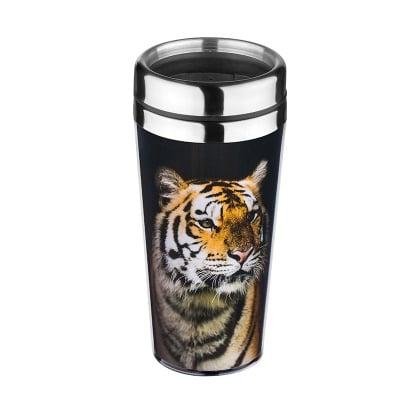 Термо чаша тигър - 18 см. - 470 мл.