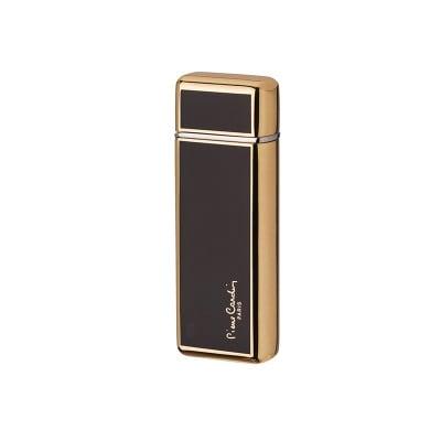 Луксозна запалка черно и златно  с капаче Pierre Cardin