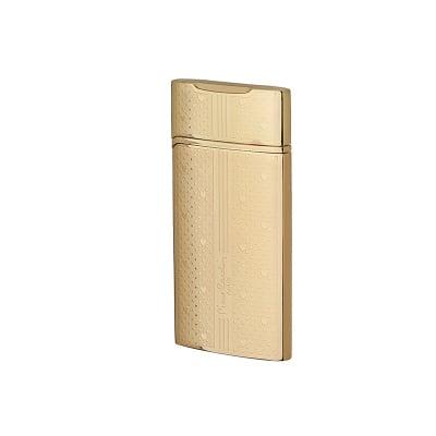 Златна запалка със сърца  на Pierre Cardin