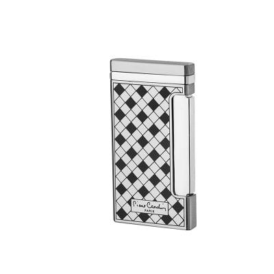 Стилна запалка в сребърно шах мат - Pierre Cardin
