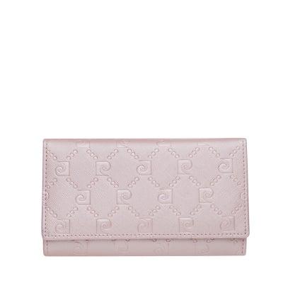 Дамско портмоне с розова щампа PIERRE CARDIN