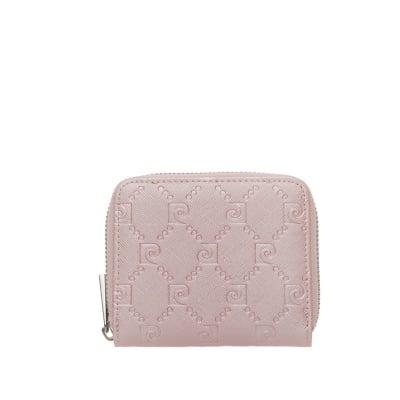 Дамско малко портмоне с розова щампа - PIERRE CARDIN