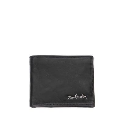 Мъжки класически портфейл от естествена кожа гланц PIERRE CARDIN
