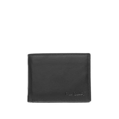 Мъжки портфейл с мека кожа и  ембосинг емблема - PIERRE CARDIN