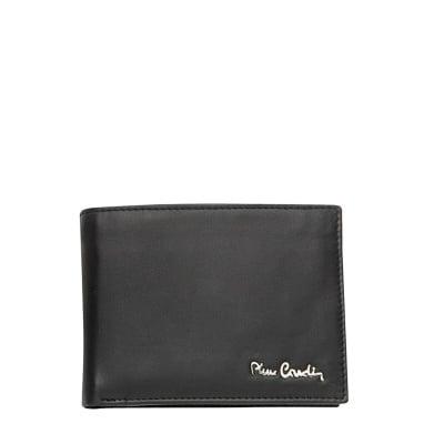 Мъжки черен портфейл PIERRE CARDIN - мат
