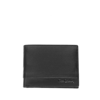 Мъжки  портфейл с хоризонтала черна черта PIERRE CARDIN