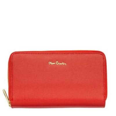 Дамско портмоне PIERRE CARDIN червено с цип