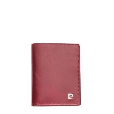 Дамско портмоне PIERRE CARDIN червено вертикално