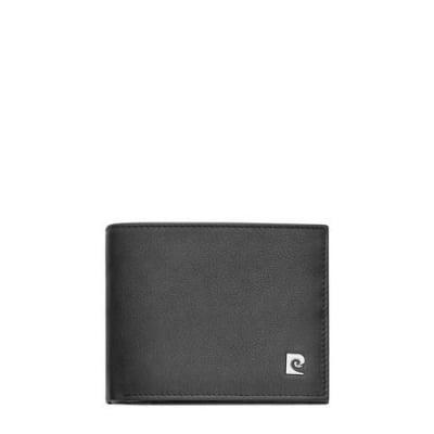 Мъжки портфейл PIERRE CARDIN класик черен естествена кожа