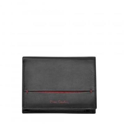 Мъжки портфейл PIERRE CARDIN с червено