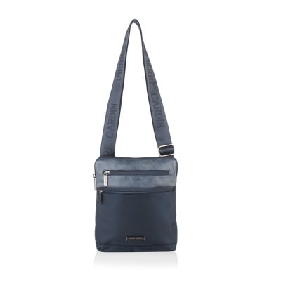 Мъжка чанта комбинация синьо и синьо PIERRE CARDIN