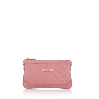 Дамска чанта  PIERRE CARDIN Savage розова