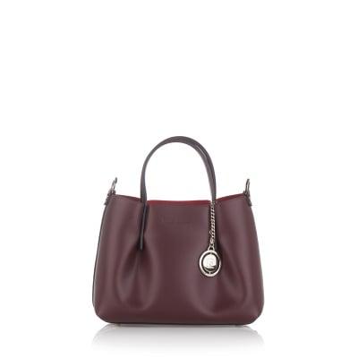 Дамска чанта PIERRE CARDIN  - тъмно бордо
