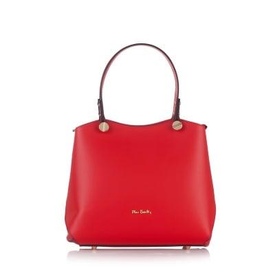 Дамска чанта PIERRE CARDIN - Ruga Classic червена