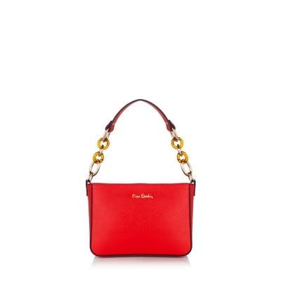 Компактна дамска чанта PIERRE CARDIN - червена