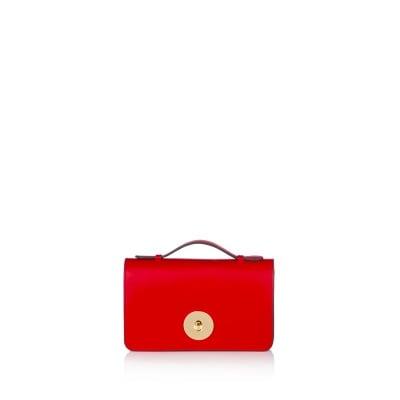 Червена дамска чанта PIERRE CARDIN