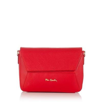 Дамска чанта Dollaro червена - PIERRE CARDIN