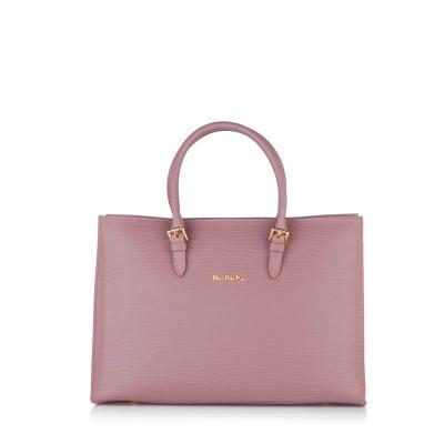 Дамска чанта PIERRE CARDIN от ест.кожа, розова